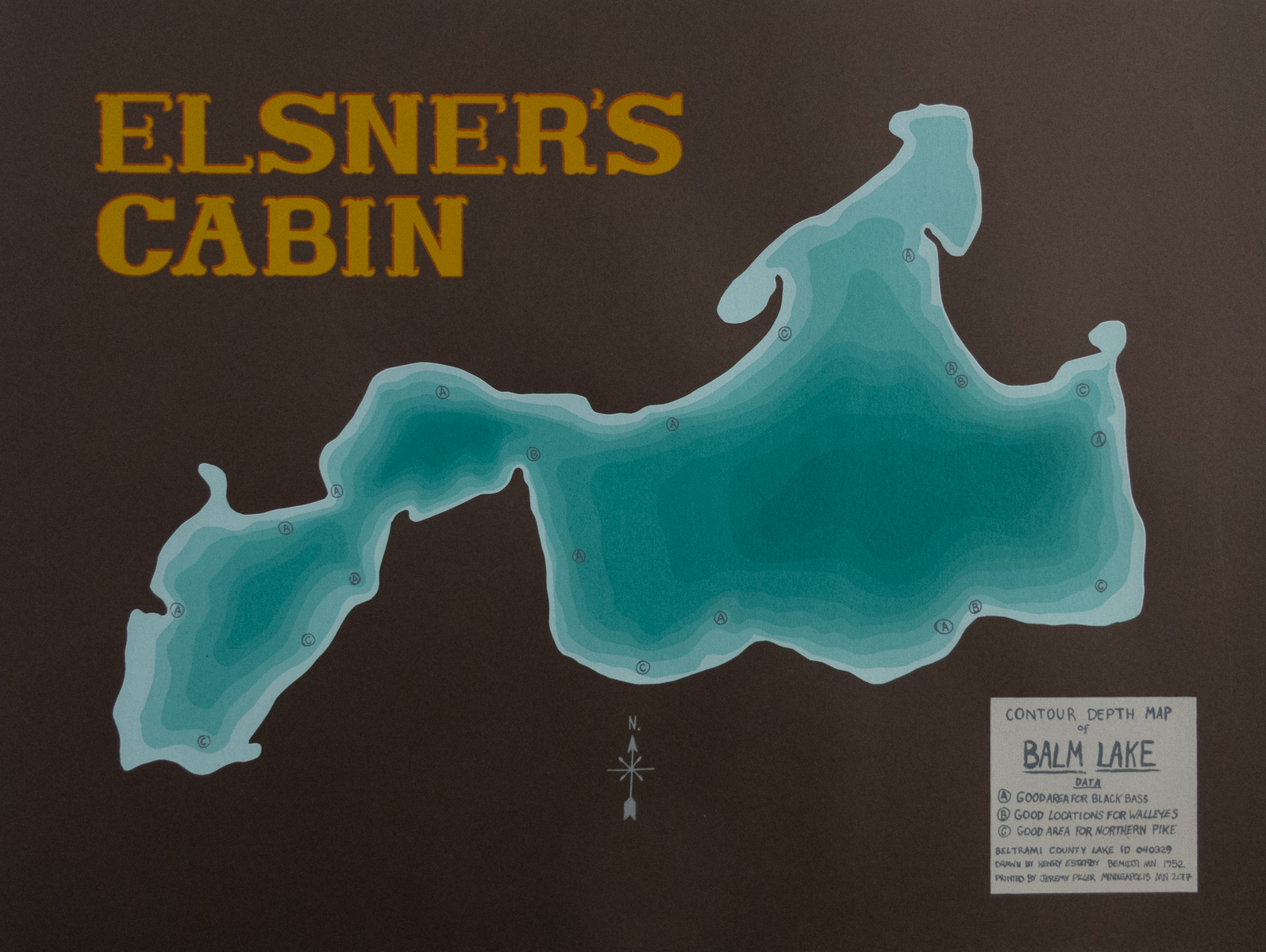 Jeremy Piller   Elsner's Cabin   Screenprint