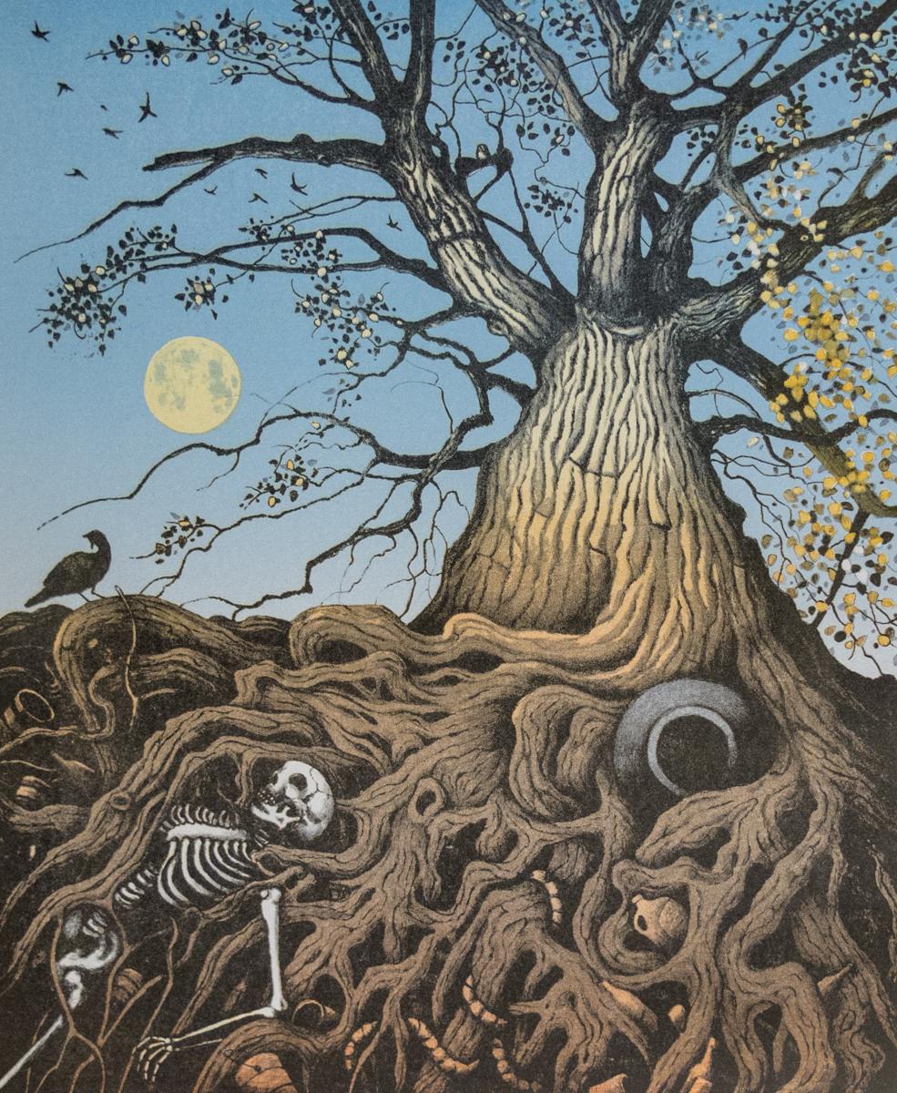 Kurt Seaberg   Tree of Life   Lithograph