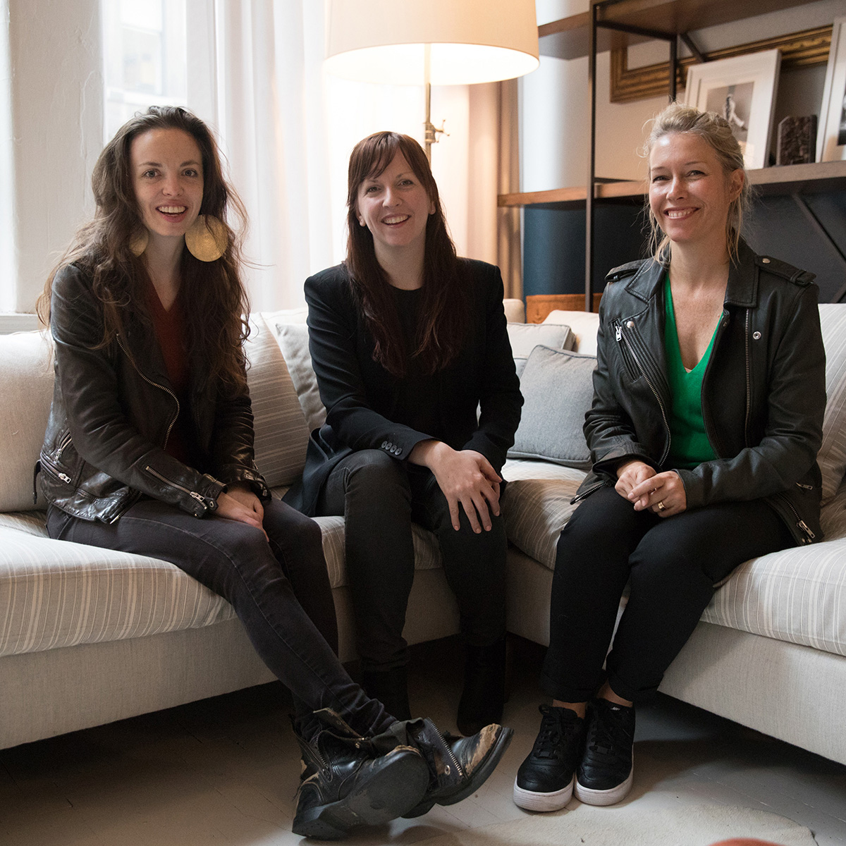 Michelle Dorrance, Jessica Lang and Sarah Crowner. Photo: Rosalie O'Connor