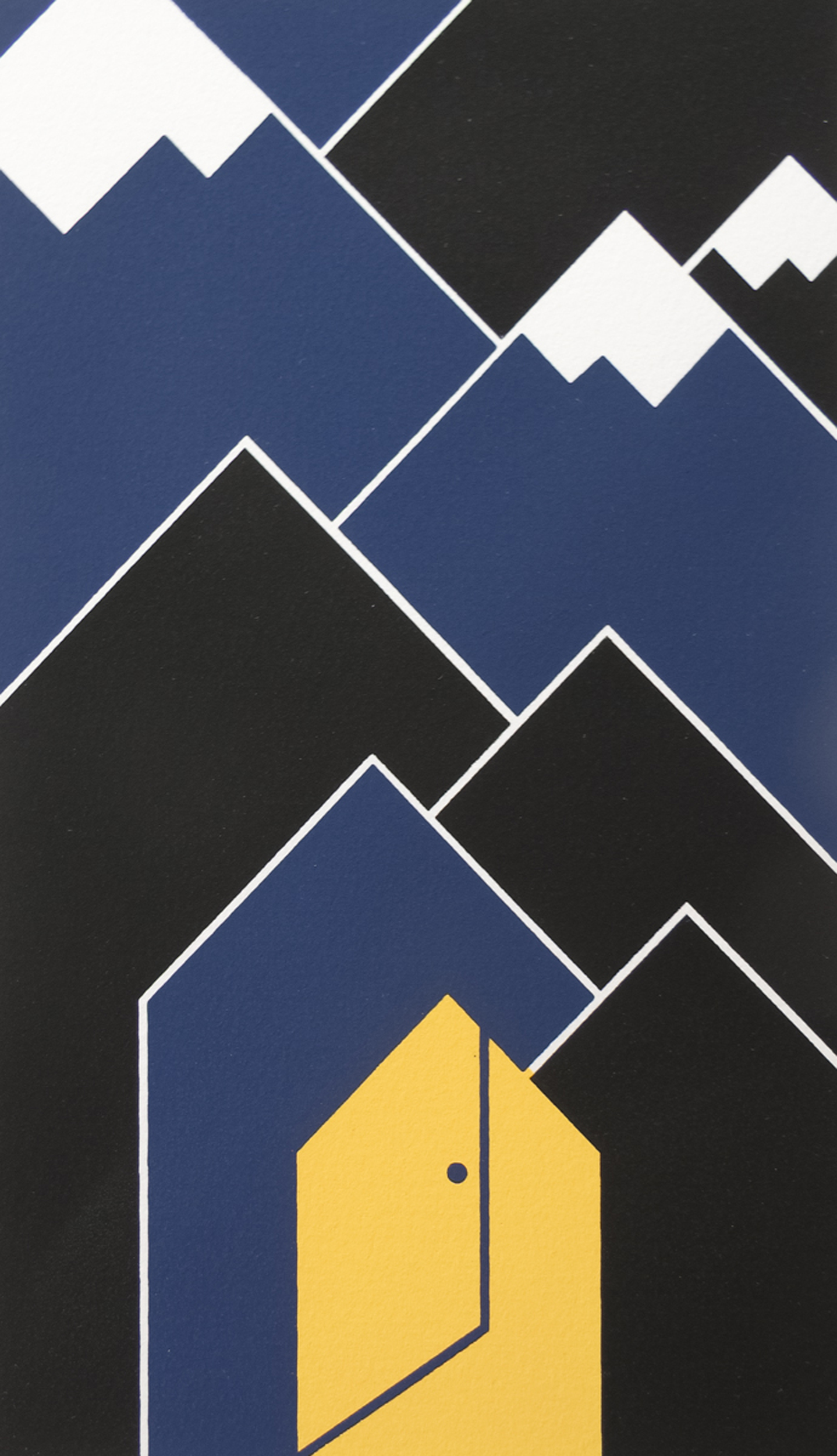 Nancy Bolan, Shortcut, screenprint