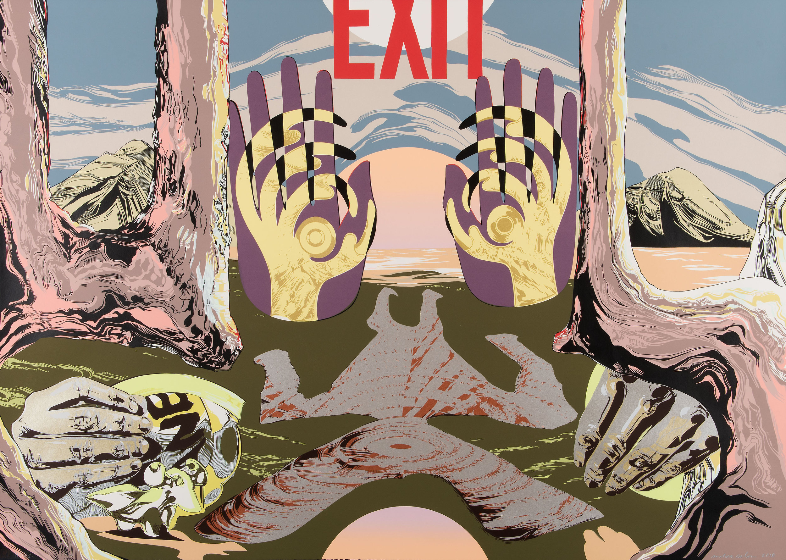 """Exit  by Andrea Carlson 2018 