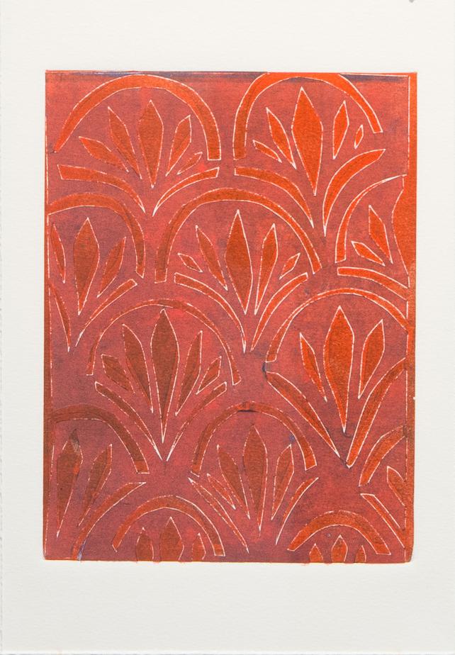 Mari Marks Mondanelli, Untitled, Monoprint