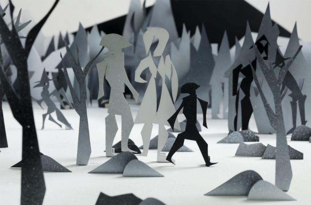 """Carlos Amorales, """"The Cursed Village"""", 2017, Courtesy of Estudio Amorales and kurimanzutto Mexico City"""