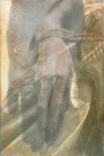 """Gesture XV 6/16"" by Linda Schwarz 2002"