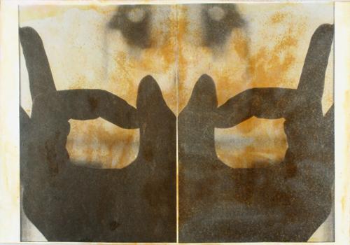 """Gesture XVII 4/11 ev"" by Linda Schwarz 2002"