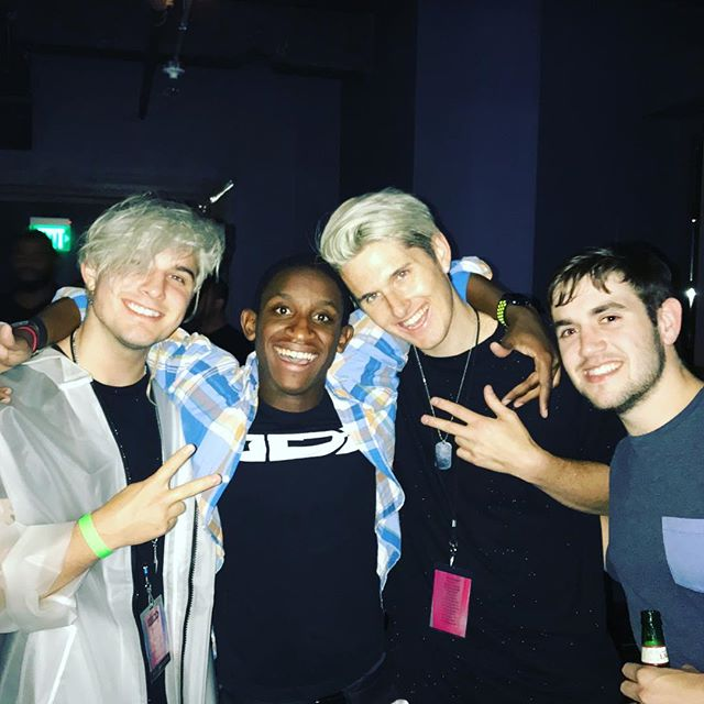 I was pretty much in DJ heaven this week. Saw my favorite DJ 3x times in 2 days, opened up for a band Saturday night and I got to meet these two kick ass producers, @greymusique! If you don't know the guys, you should check them out. They kill it! @zedd @electricfactory @notophl