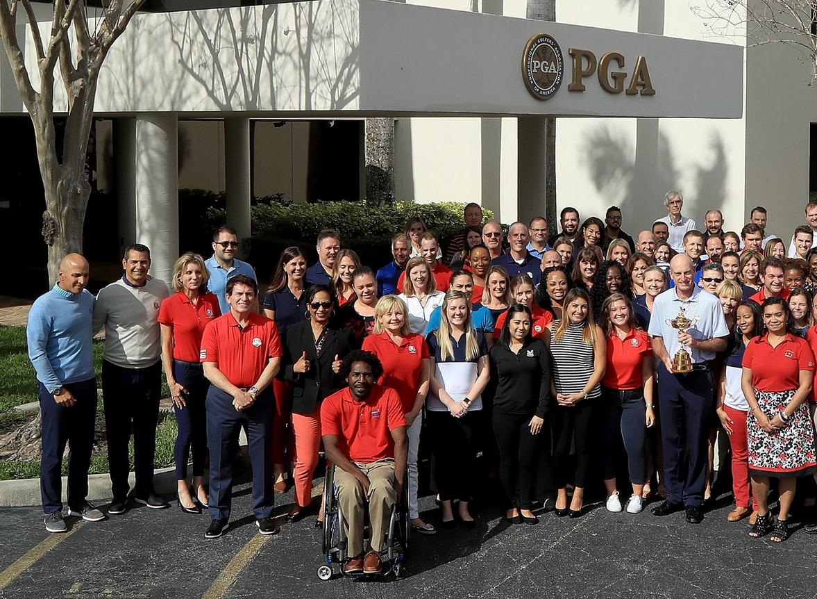 PGA of America employees in Palm Beach Gardens