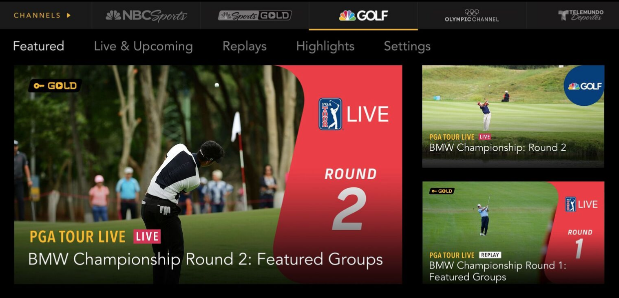 Pga Tour Live On Nbc Sports Gold Christmas Price While Supplies Last Geoff Shackelford