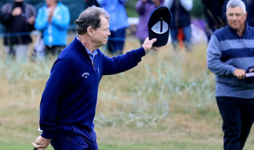 Tom Watson Bids Farewell To One Of The Very Best Links Careers
