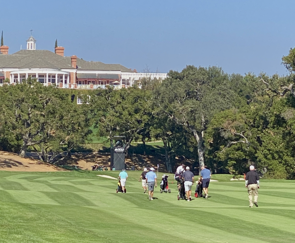 The Wednesday pro-am