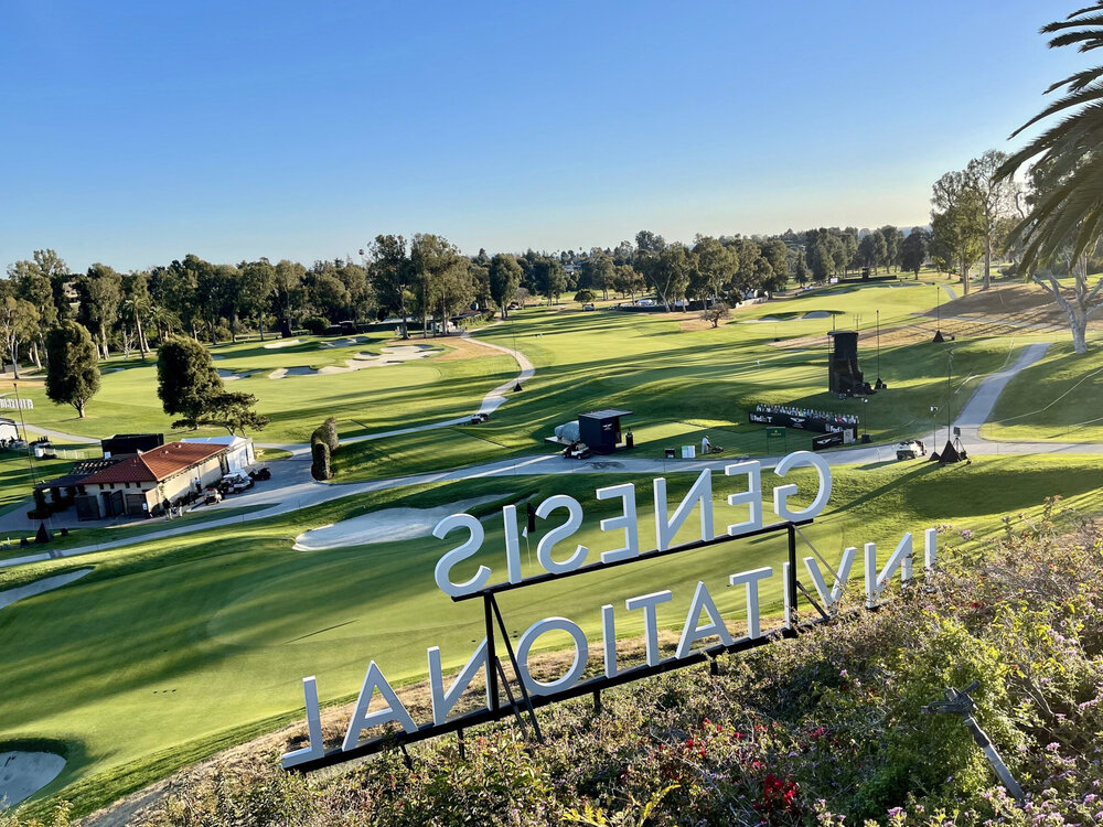 Riviera is ready but devoid of the usual tournament build out (Geoff Shackelford)