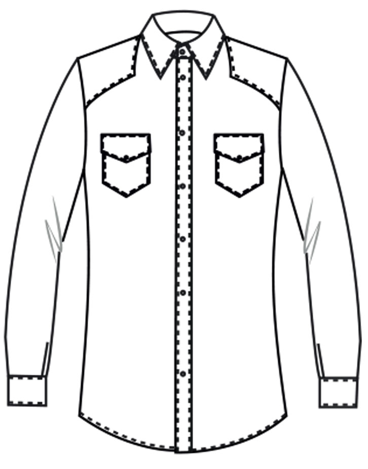 West Colt custom-tailored shirt