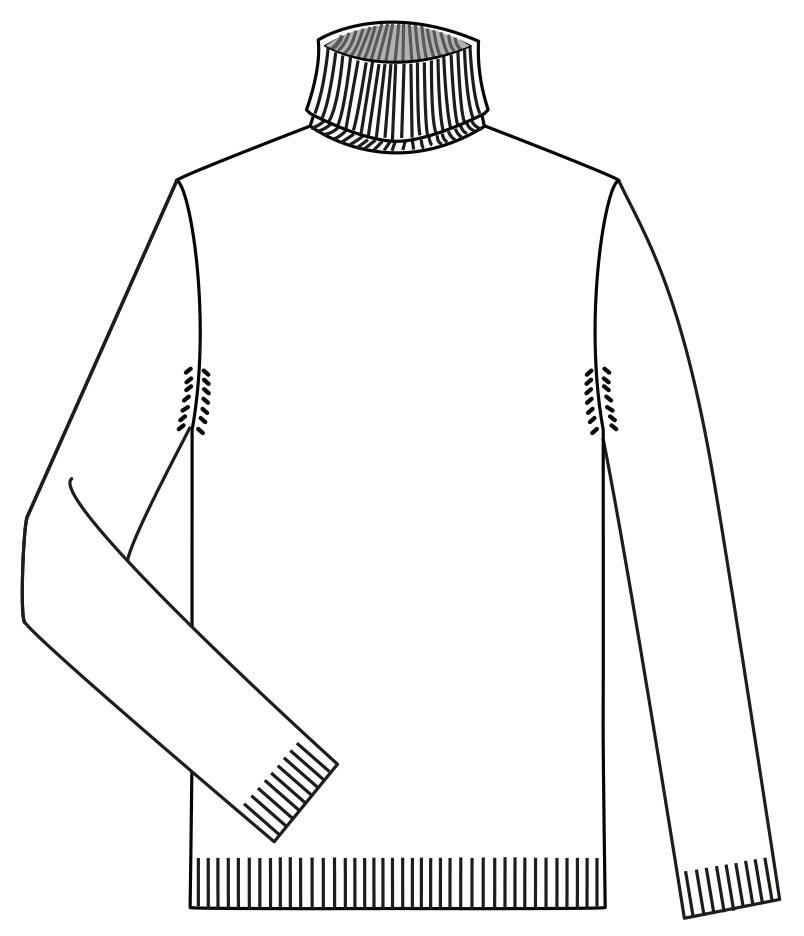 Nivola roll neck sweater