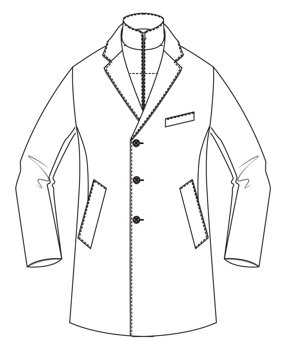 Elgort Overcoat