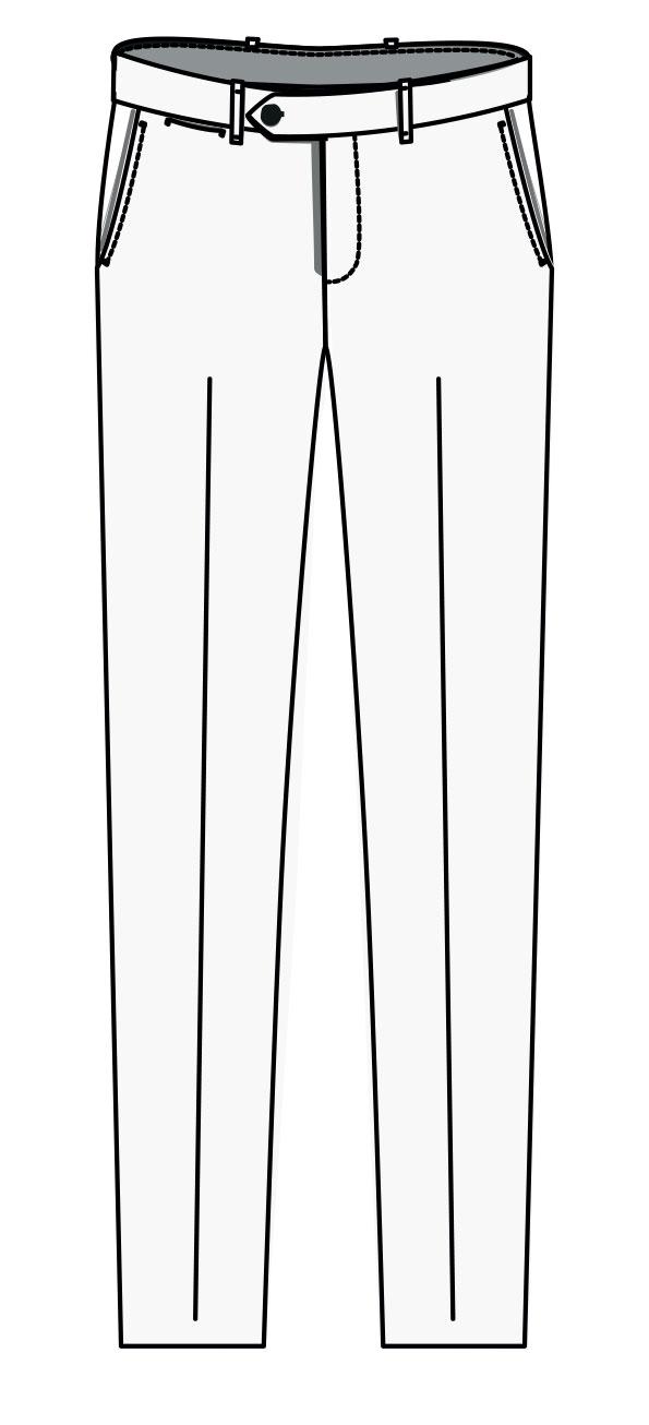 Londres Trouser  Slim cut