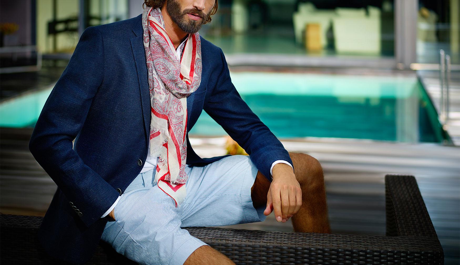 Mesh & Custom-Tailored shirts -