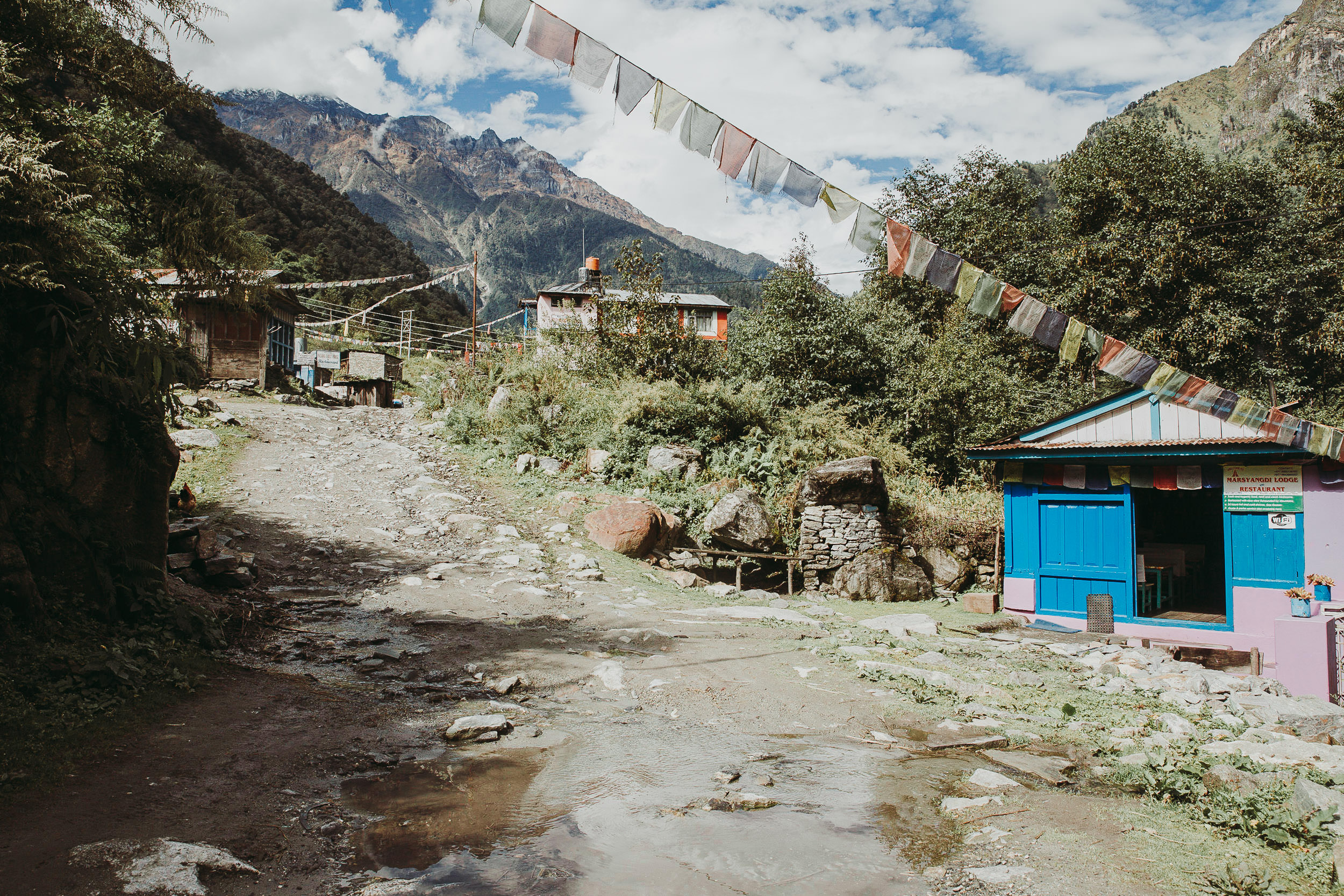 Tea Houses on the Annapurna Circuit