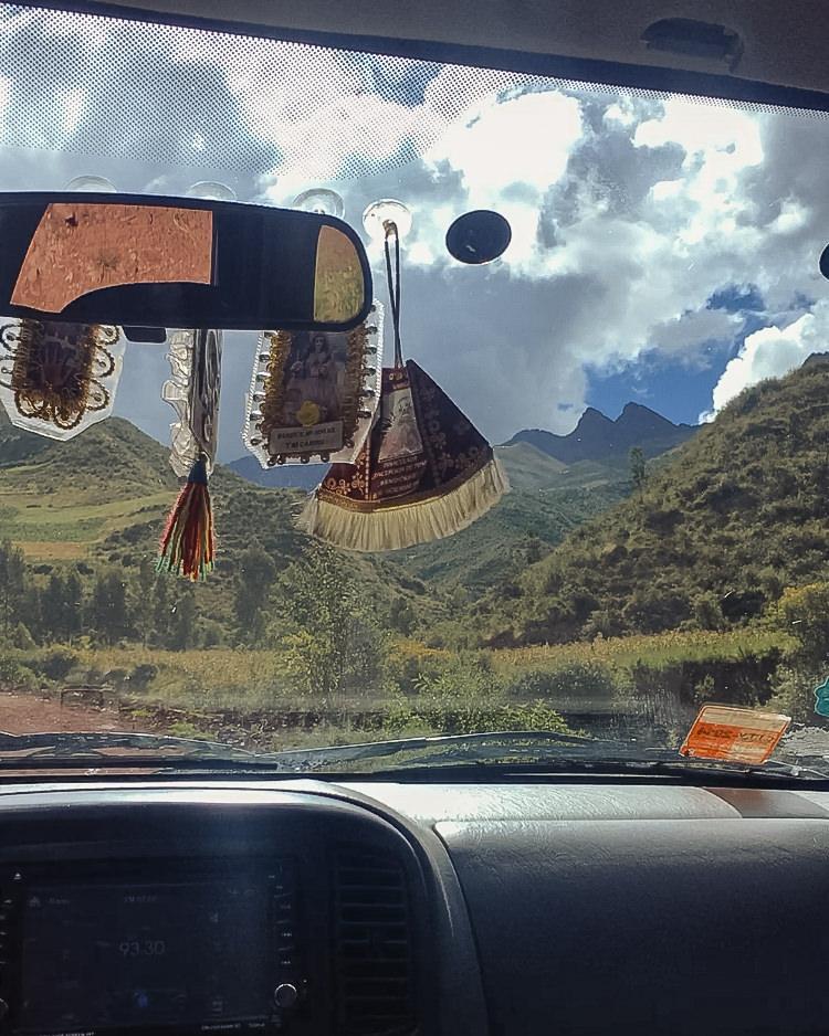Trek to Machu Picchu - Mountain Roads