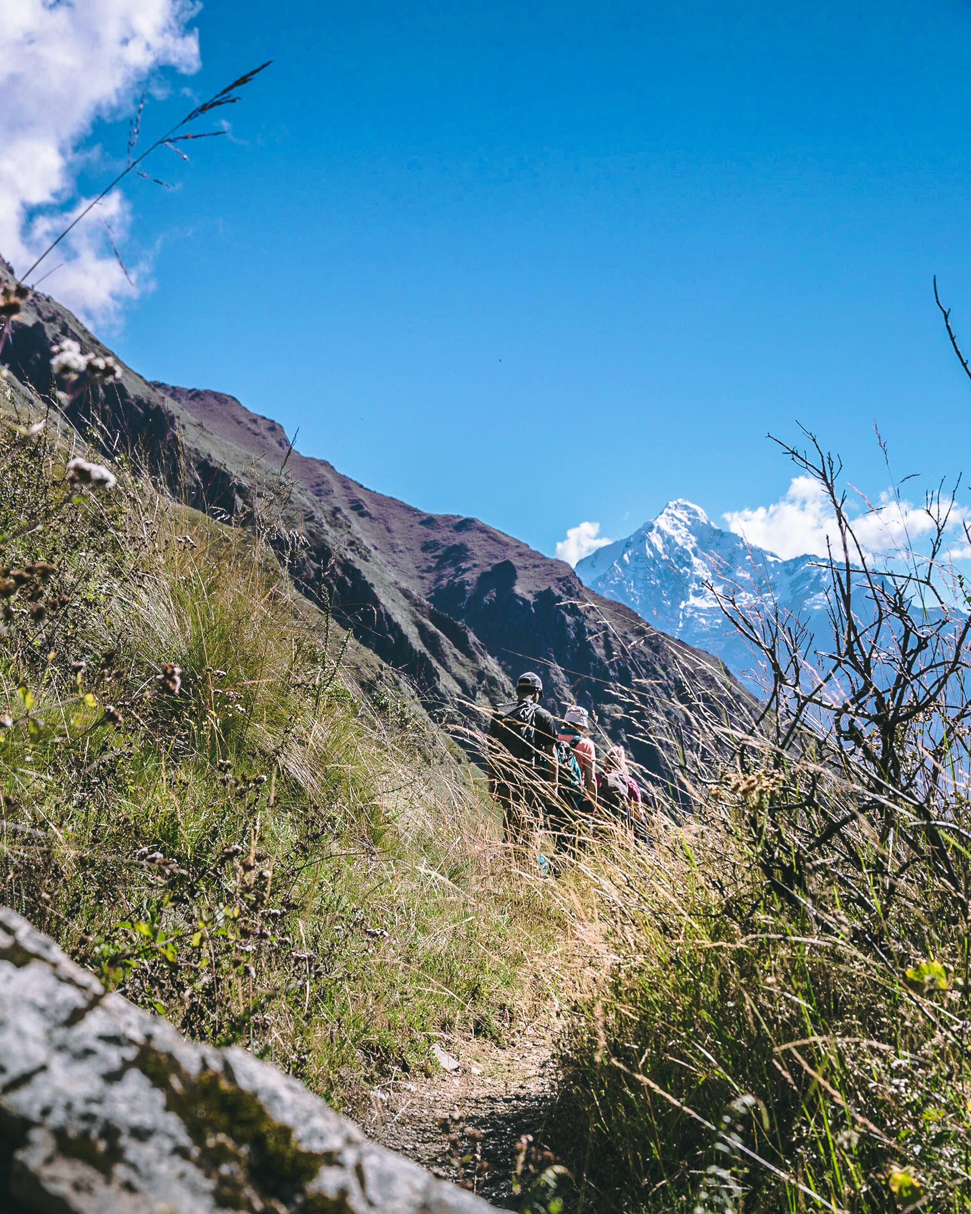 Trek To Machu Picchu - Glorious Mountain Views