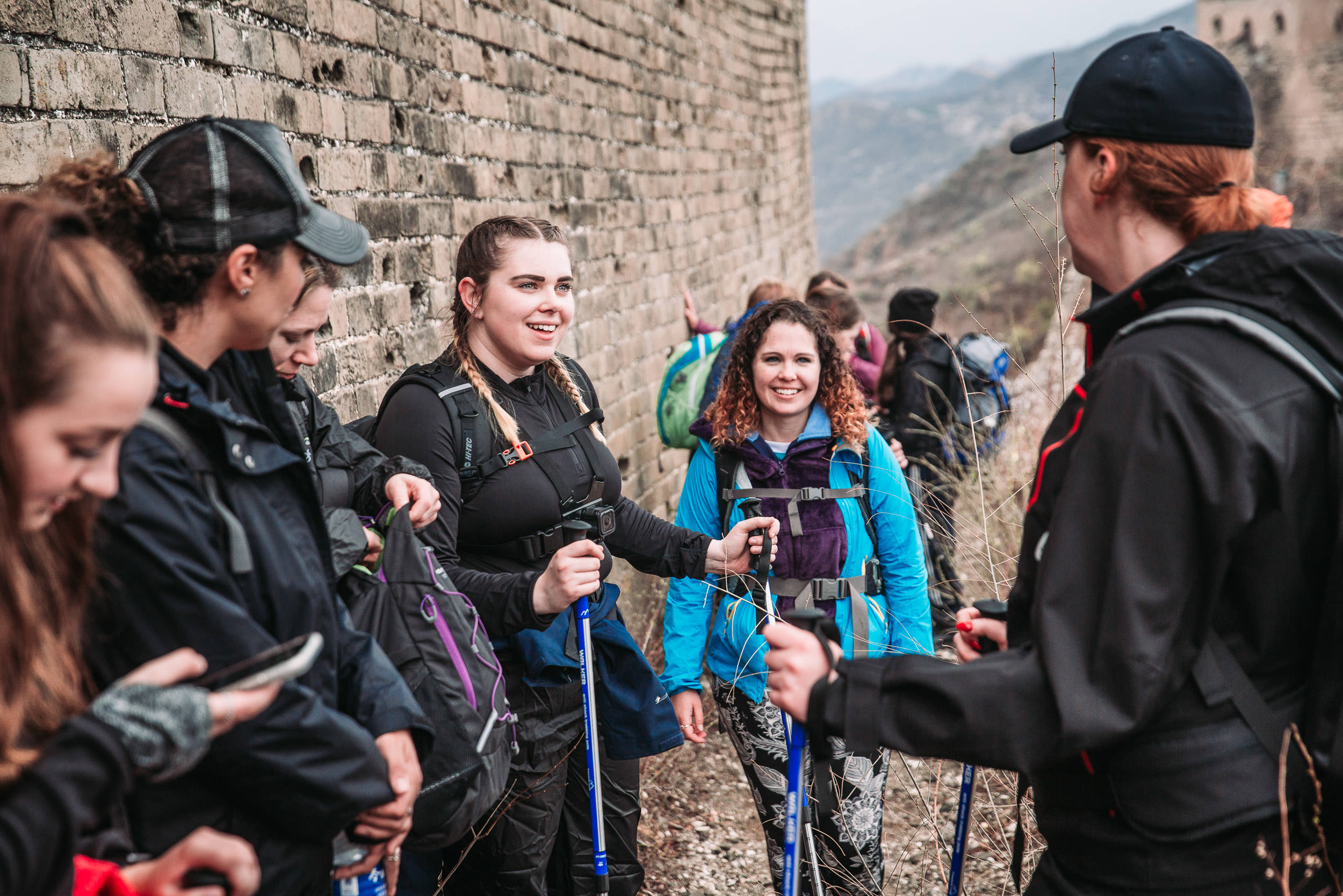 Charity_Challenge_Great_Wall_Taking_a_Break