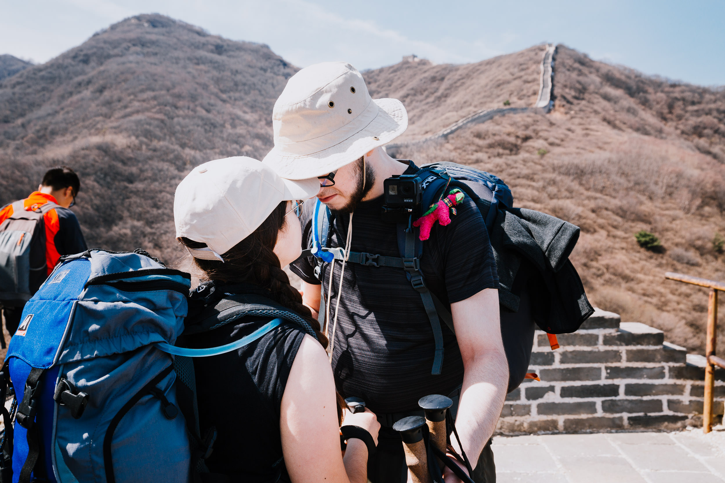 Couple_Great_Wall_Trek