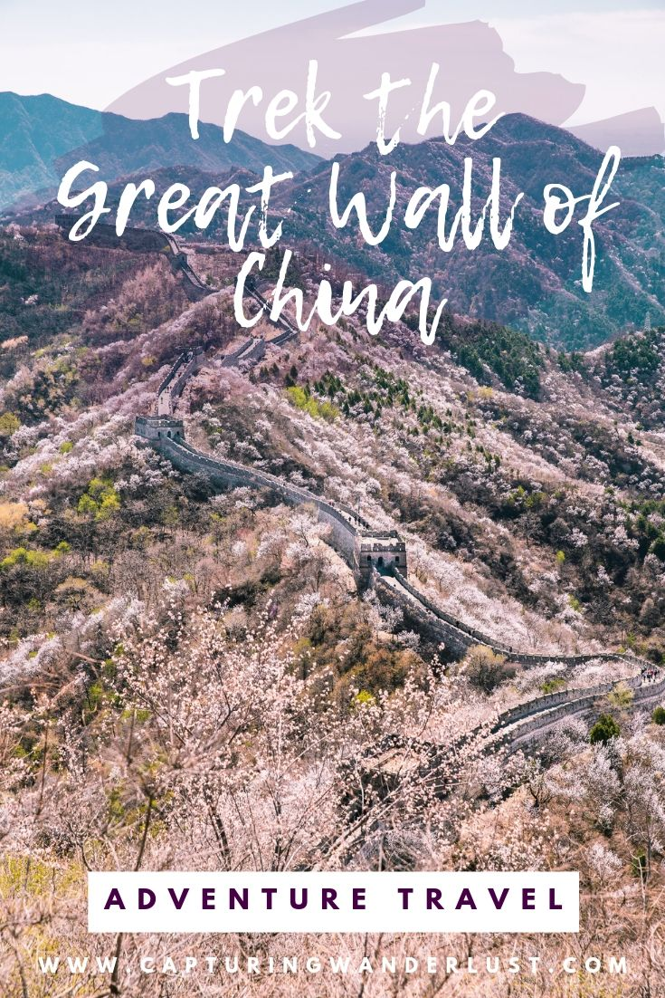 My experience trekking the Great Wall of China over a five day adventure trip.