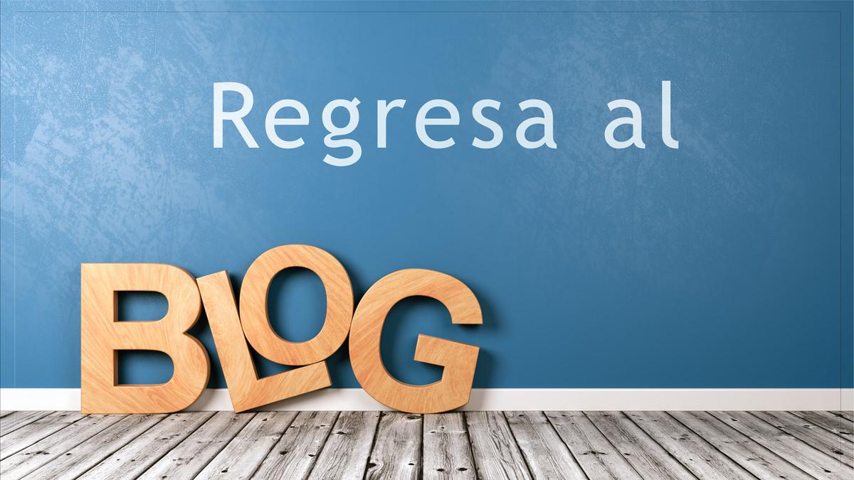 De regreso al Blog de Caballero.