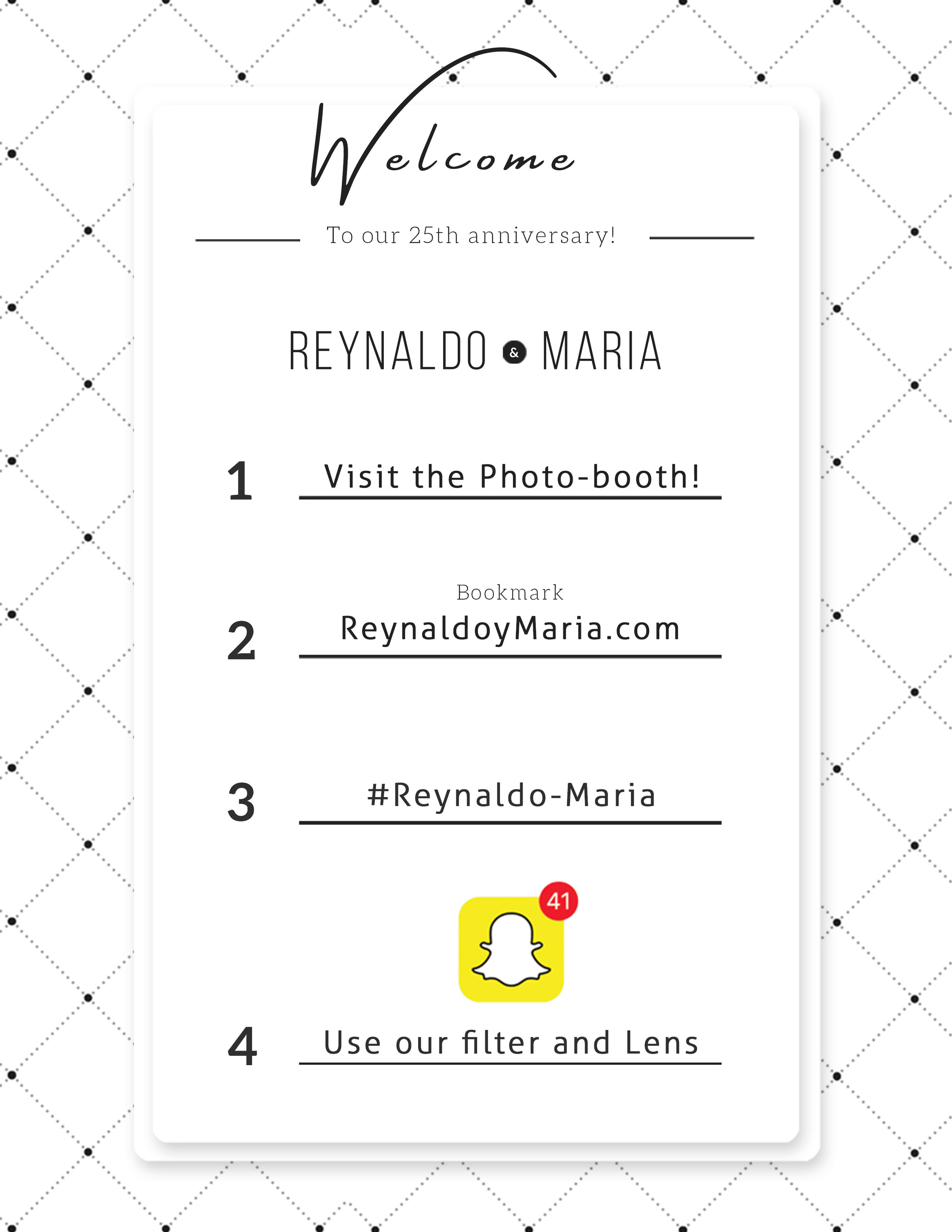 Usen nuestros filtros de Snapchat!