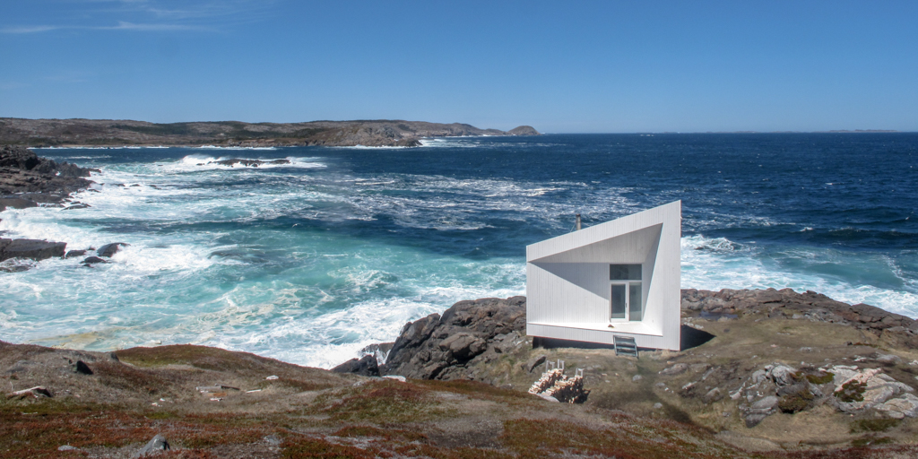 On sunny days like this, I like to scout locations so I know what they hold and where I want to come back to when the conditions are right. This is the beautiful Squish Studio on Fogo Island on one of those scouting days.