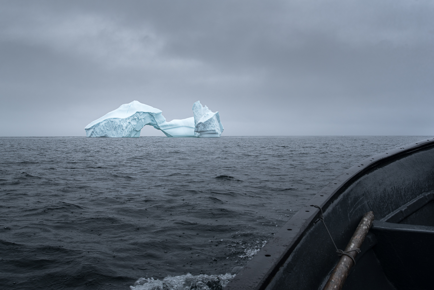 My dream iceberg as seen from Roland's boat.