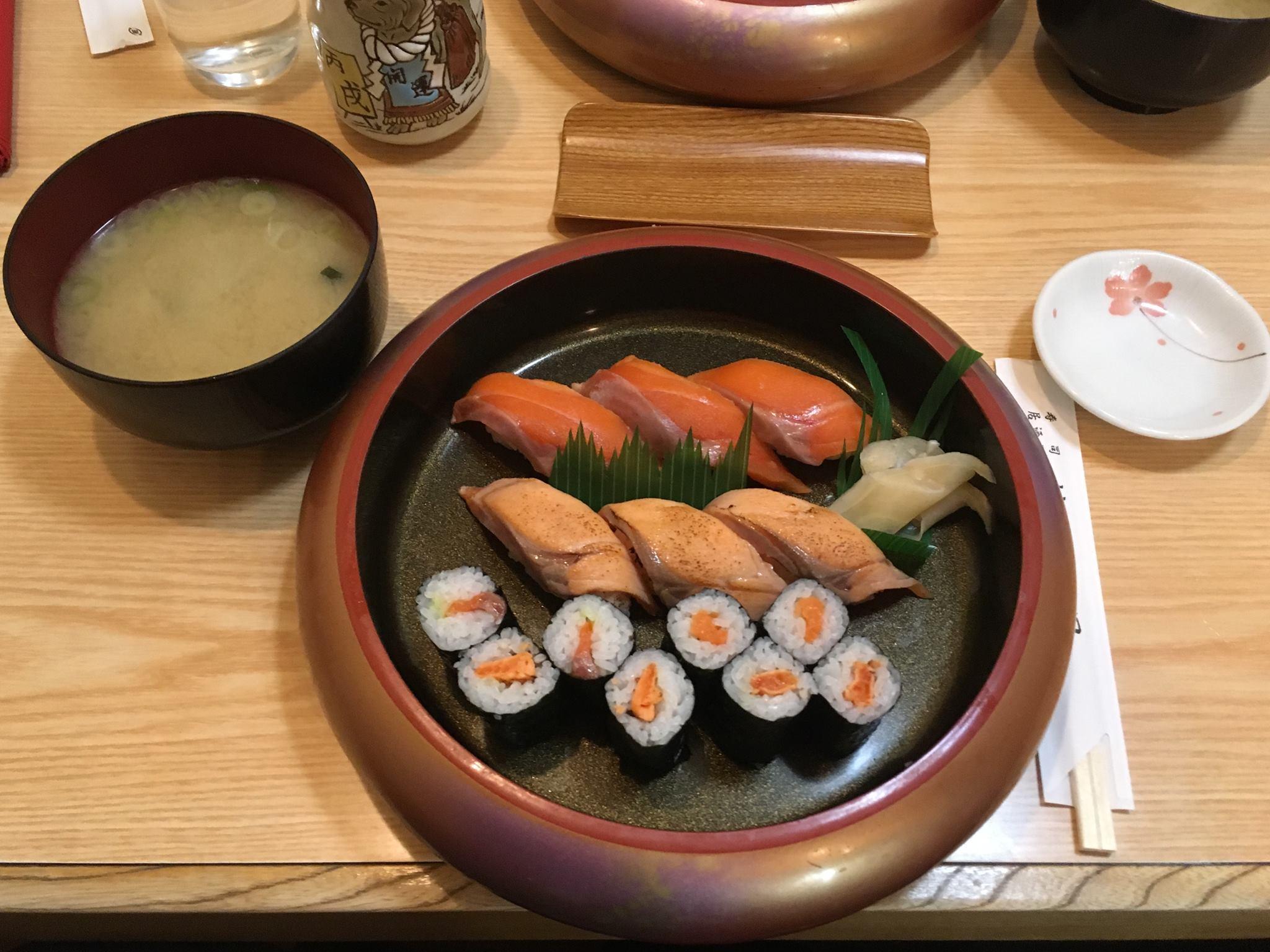 Sushi lunch.