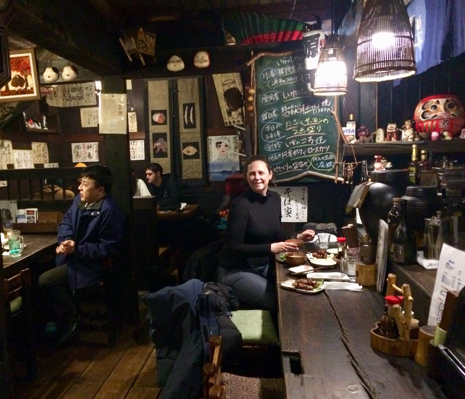 A cozy and warm izakaya for dinner.  (photo: Ulana Switucha)
