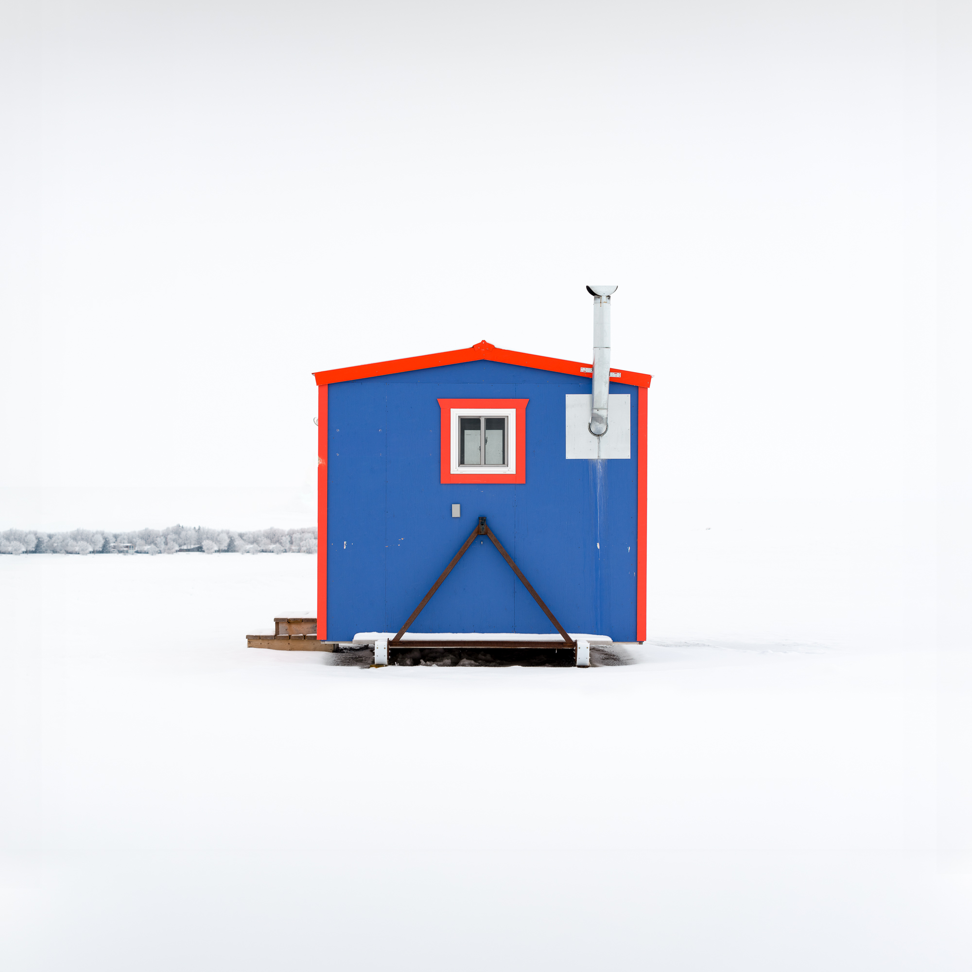Ice Fishing Hut VIII