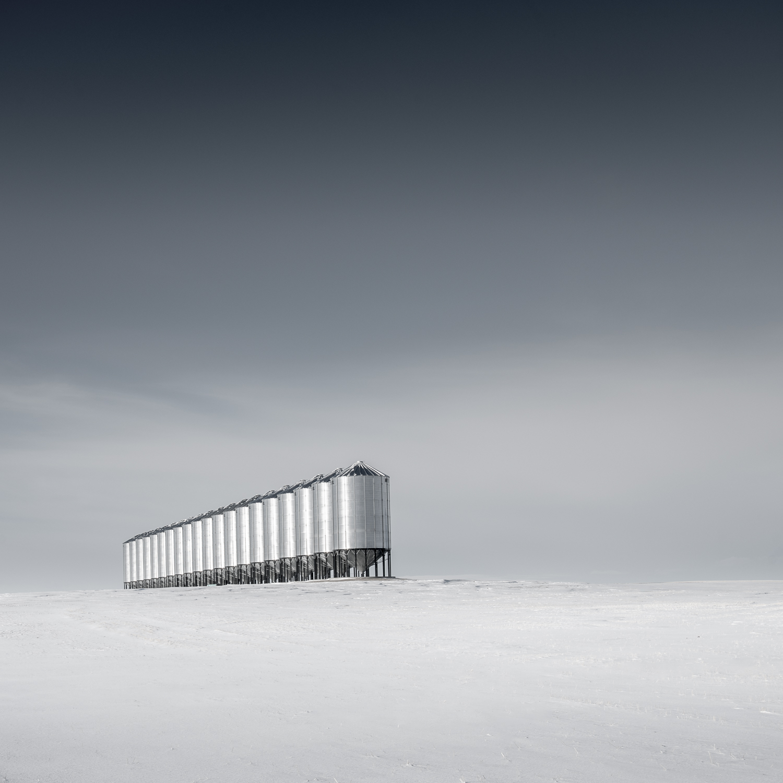 Photographing Grain Elevators and Winter Scenes on the Prairies - A fourth winter trip to the Prairies (Alberta and Saskatchewan)