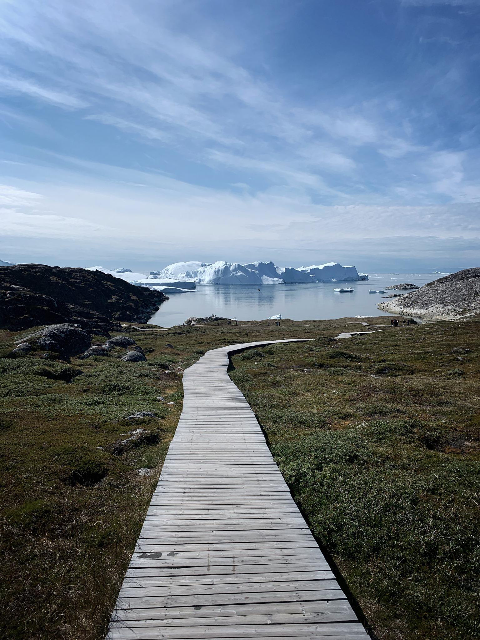 Jakobshavn icefjord.