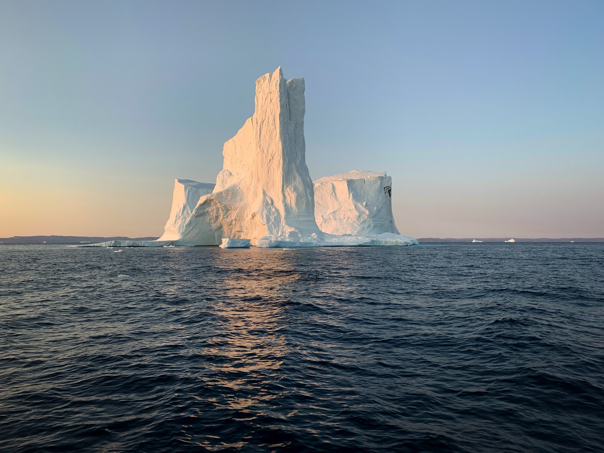 This stunning iceberg was not only beautiful, but huge!