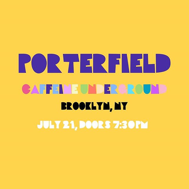 Asuh dudes. We have another show on Sunday! Come hang, there will be some great musiciand on hand! . . . . . . . . . #porterfield #trio #guitar #drums #moog #band #livemusic #music #cafe #caffeine #trio #jazz #fusion #rock #indie