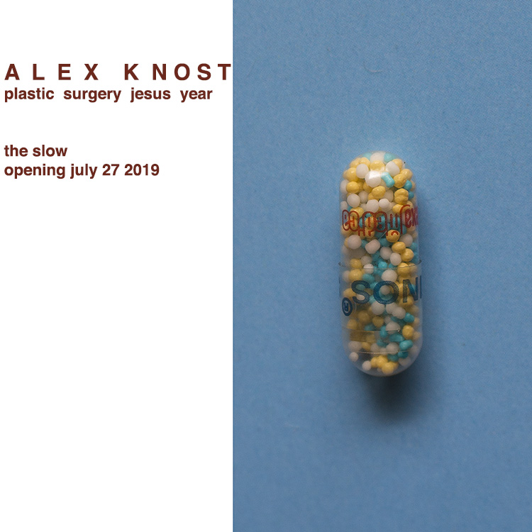 plastic surgery jesus year - Alex KnostOpens 7pm - late, 27.07.19Continues daily, until 03.10.19Offsite location: The Slow. Canggu, Bali. ID