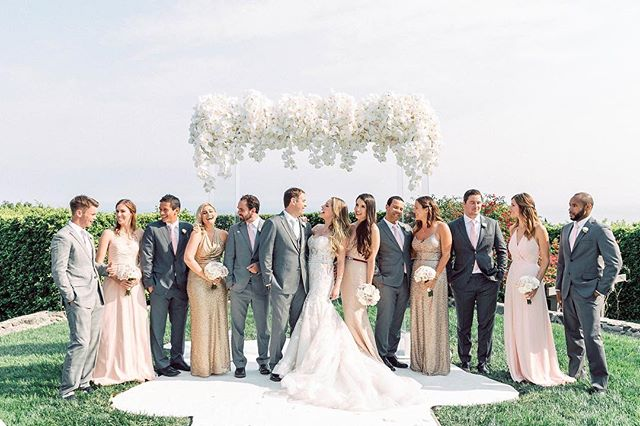 On Monday, it's a good idea to remember why you do what you do. Today we remember it's not just the pretty, it's the joy, the pressure and the success of a job well done and the excitement that we get to do it all this next Saturday.  Photo | @janawilliamsphoto_ Rentals | @sigpartyrents Florals | @fioredesigns H&M | @pagebeauty