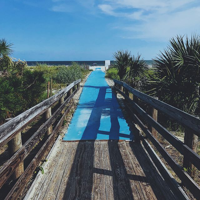 To the beach • • • • • • #HiltionHead #southcarolina #HiltionHeadIsland #southernstyle #HiltionHeadSC #charlestondaily #summerinthesouth #picoftheday #outdoors #lowcountry #southernsummer #wonderful_places #beach #exploreSC #discoveraround #fatalframes #igtravel #instabeach #visualambassadors #sky #vsco #view #passionpassport #perspective #explorecreate #ig_vision #followmeto #nature #wanderlust #world_captures