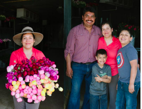 SWGMC sponsors farm open days and events several times a year to help customers connect with farmers and see how the flowers are grown.