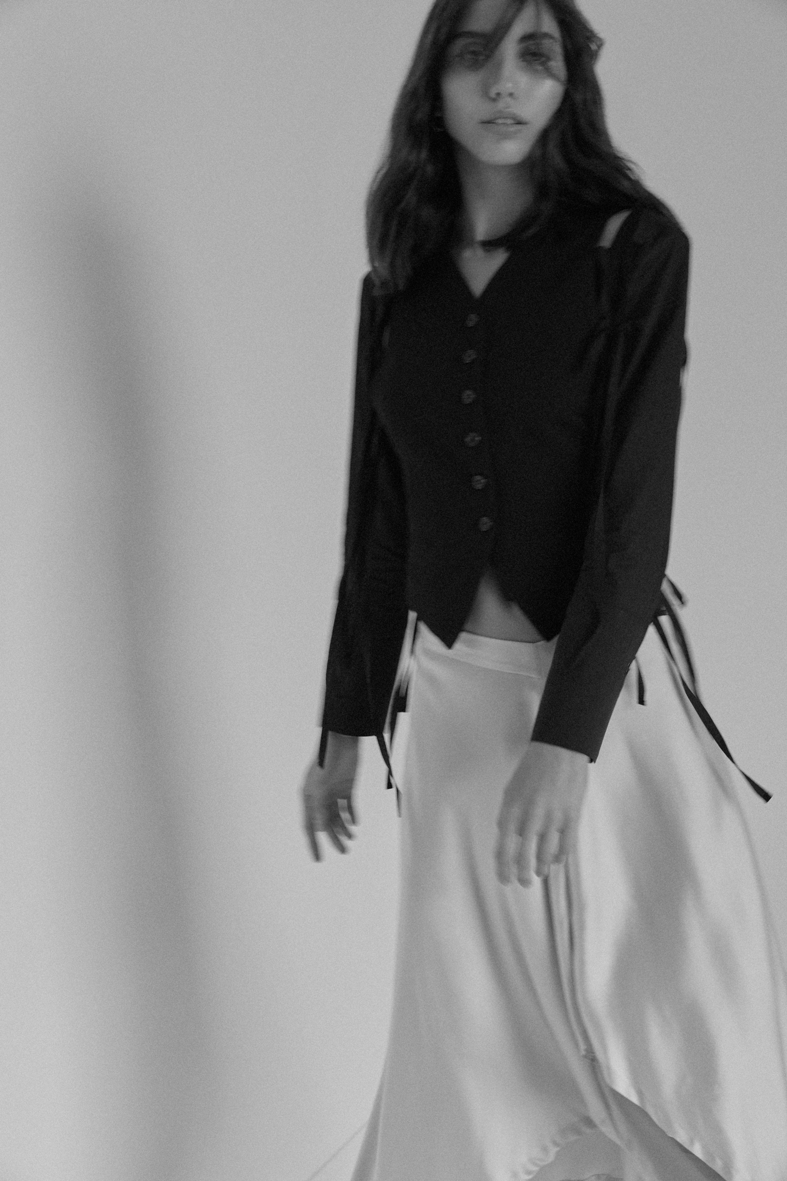 Top |  Ann Demeulemeester at Island Luxe , Skirt |  Lost & Found