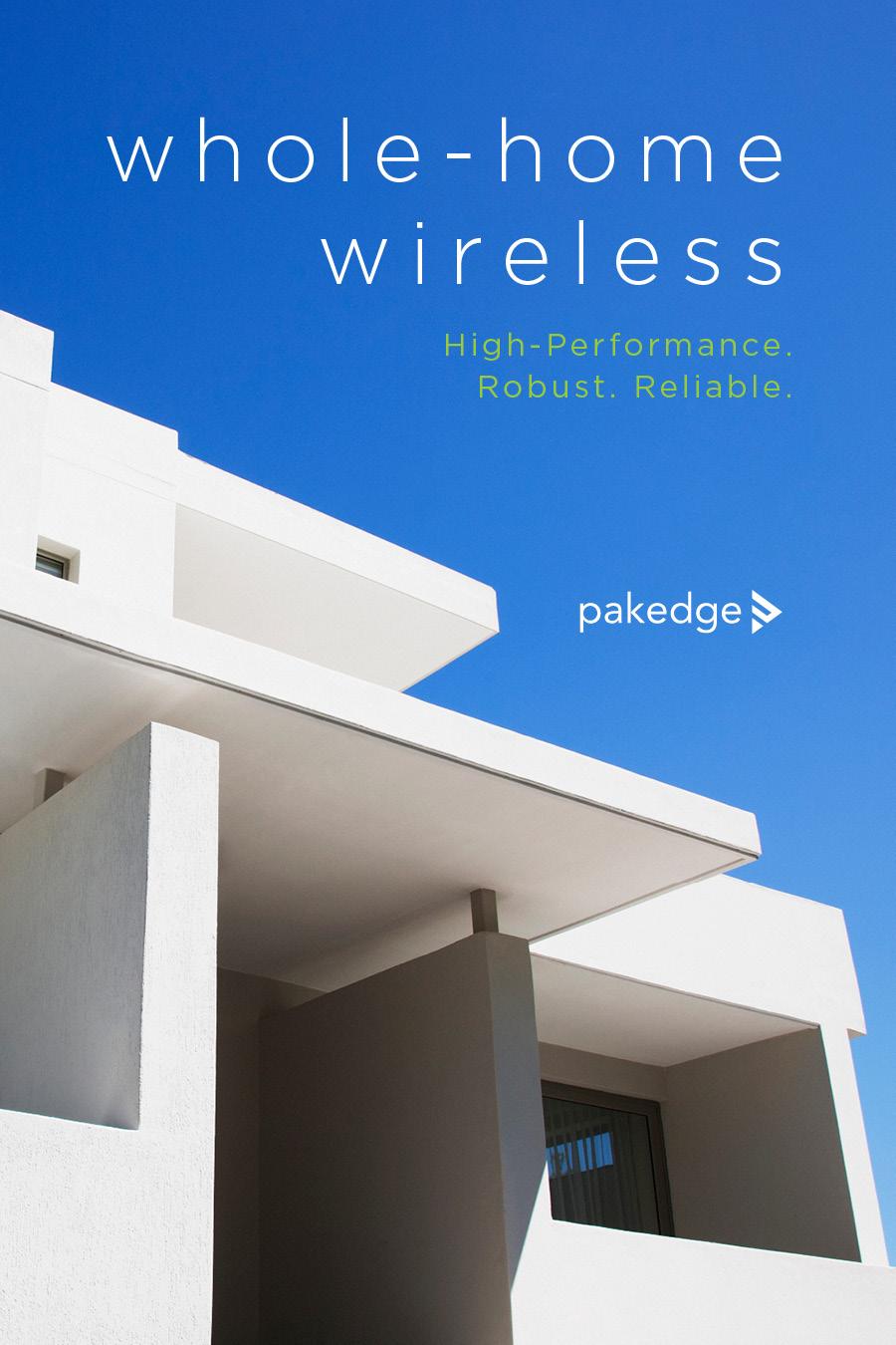 Pakedge - Whole Home Wireless