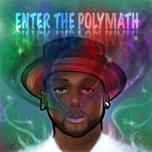 Enter The Polymath Album Artwork    Prion Haiyle