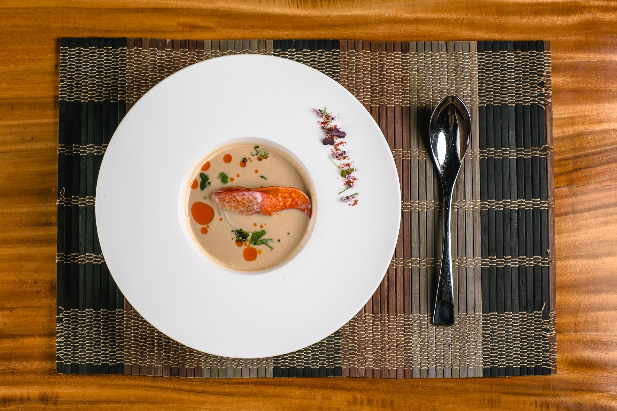 Lobster Tom Kha Soup