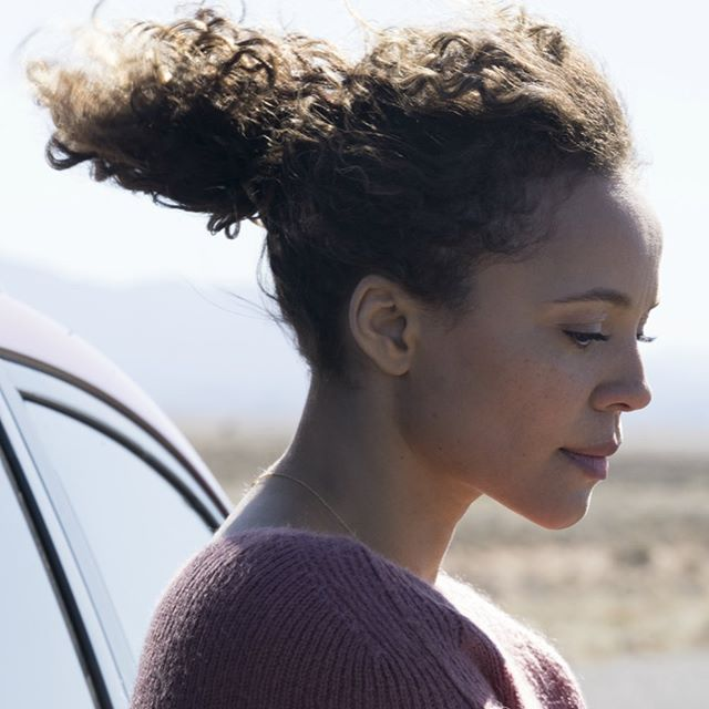 RATTLESNAKE, a new psychological thriller from Zak Hilditch, director of 1922, coming soon - October 25th on @netflix. Check out these exclusive stills from the film featured on Collider. Link in bio. Carmen Ejogo stars as Katrina, a single mother driving cross country to start a new life with her daughter (Apollonia Pratt) when their car breaks down smack in the middle of nowhere and Clara gets bit by a rattlesnake. Desperate to save her daughter's life, Katrina accepts the help of a mysterious woman who saves Clara's life, but Katrina quickly learns nothing comes without a cost when she learns she has to kill a stranger in exchange for the life that was saved.