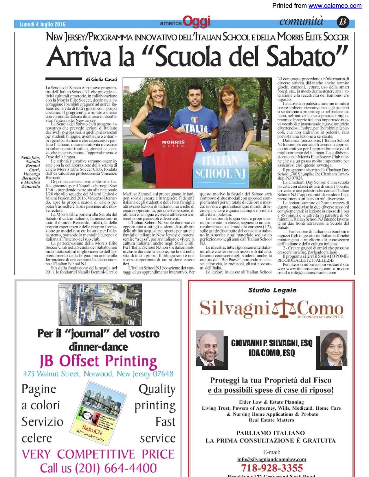2016 America Oggi articolo .jpg