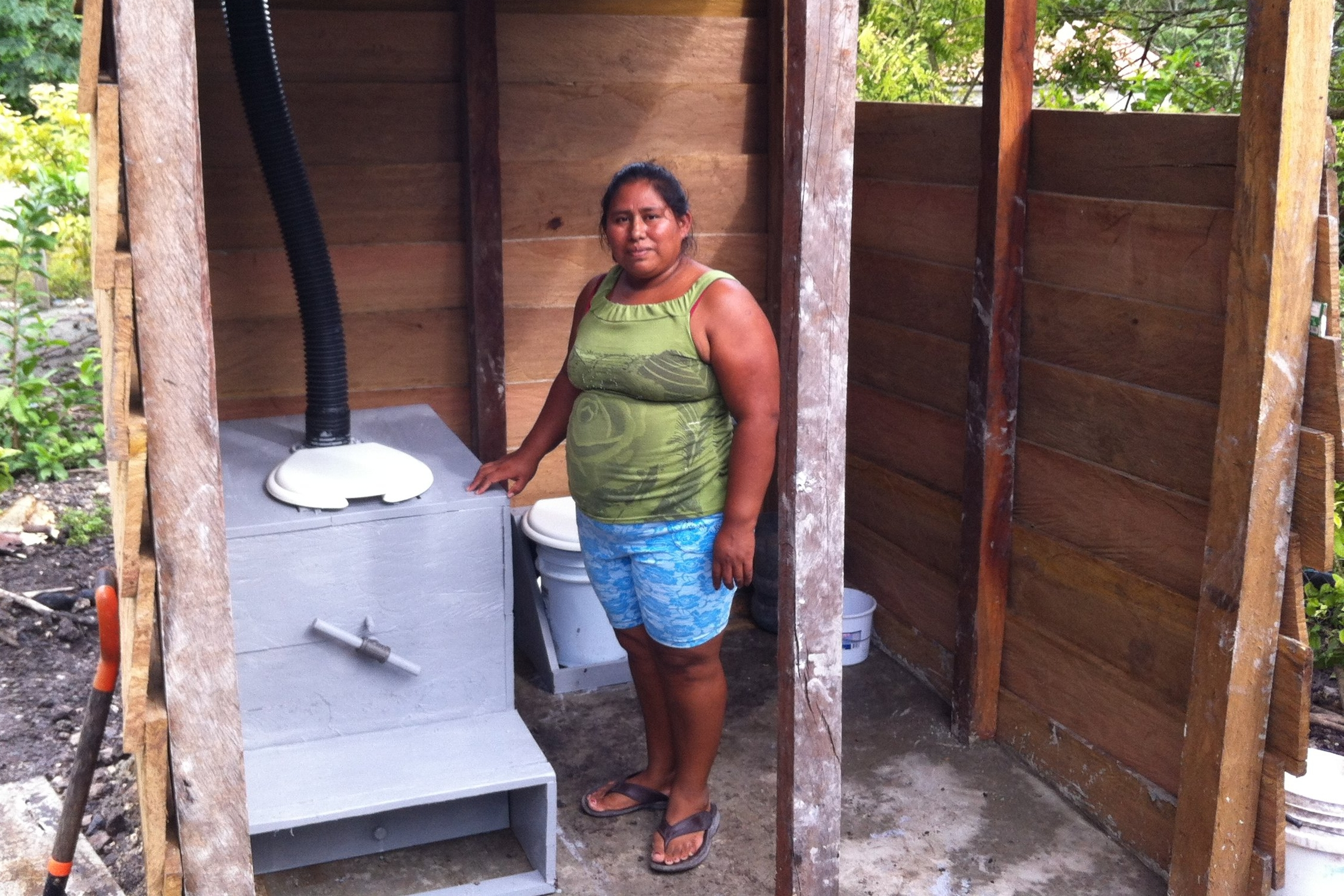 Campeche, Mexico - In 2014 TFP, along with local craftsmen and our NGO partner FHMM, installed of 5 composting toilets for 5 local families.