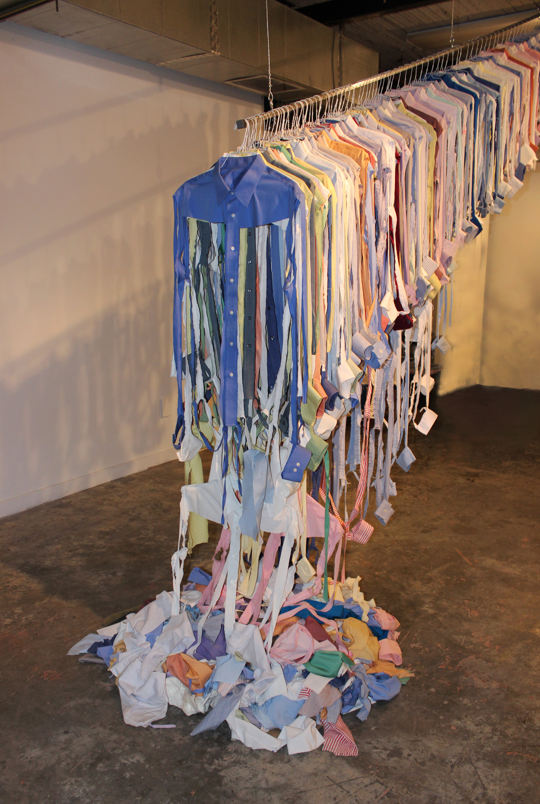 Sewing in the Shadows: Disposable Garments, Disposable People? (front view)