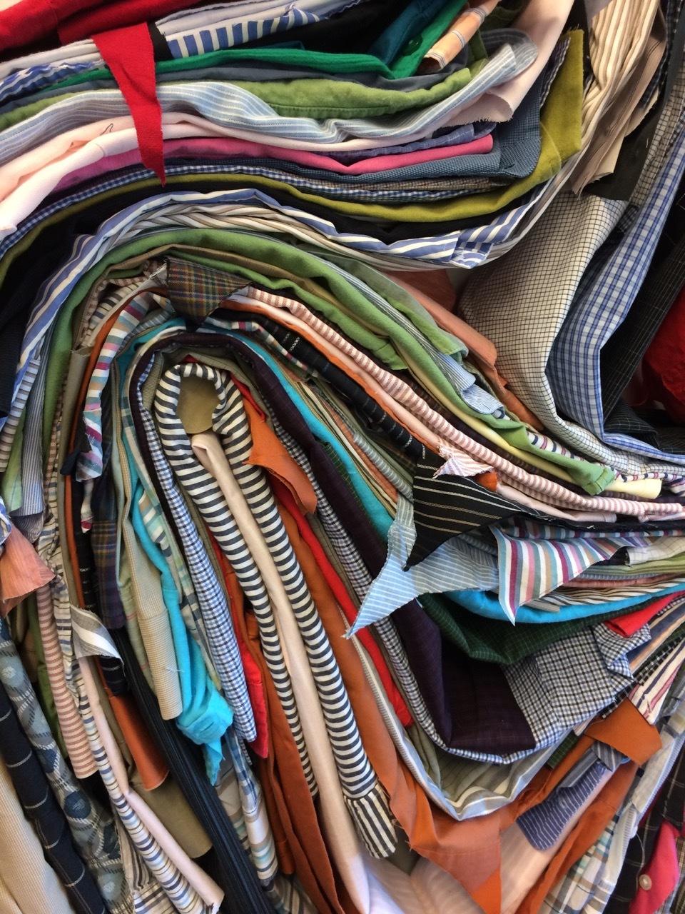 Shirtwaist Waste: Landfill Slice  (detail)